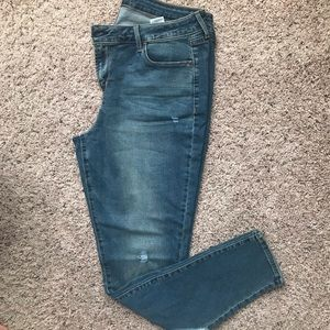 Rockstar Distressed Skinny Jeans